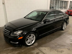 MERCEDES C300 4MATIC 2014 + CUIR + TOIT+ MAGS + BLUETOOTH