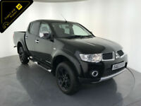 2014 MITSUBISHI L200 BARBARIAN DCB DI-D 4WD PICK-UP DIESEL 1 OWNER FINANCE PX