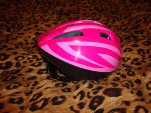 3 single  Female bike safety helmets
