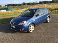 FORD FIESTA 1.2 ZETEC•33,000 MILES•ONE LADY OWNER•(like focus Clio golf polo Astra Corsa punto)