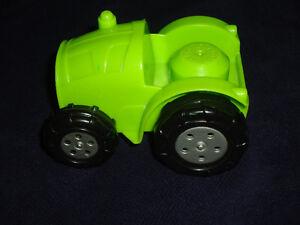 Large size Blocks: Mega Bloks Green TRACTOR Farm Toy Vehicle