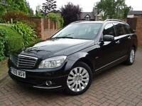 2009 Mercedes-Benz C220 2.1TD auto CDI Elegance SERV/HISTORY..FULL LEATHER SEATS
