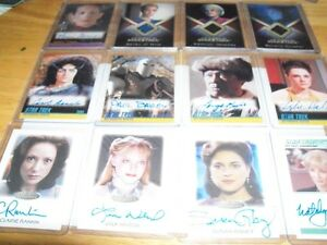 Star Trek Costume and Signed Cards