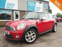 2012 Mini Mini 1.6 Cooper Red only 54000 miles warranty included £115 a year tax