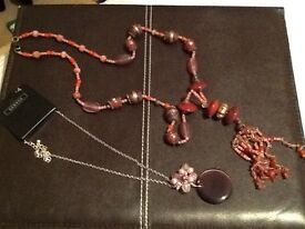 Monsoon and George necklace bundle