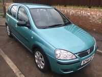 2004 Vauxhall corsa sxi 1.2 on excellent condition