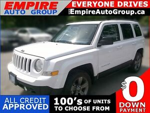 2015 JEEP PATRIOT SPORT * 4X4 * LOW KM * SHOWROOM CONDITION