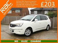 2016 Ssangyong Turismo EX MPV Diesel Manual