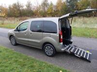 2014 Peugeot Partner Tepee 1.6 Hdi, Petrol. ONLY 7K, WHEELCHAIR ACCESSIBLE WAV