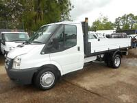 2012 FORD TRANSIT T350 SINGLE CAB ONE STOP BODY TIPPER 6 SPEED TIPPER DIESEL