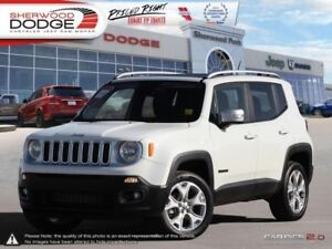 2017 Jeep Renegade Limited  NAV | BACK CAM | SUNROOF