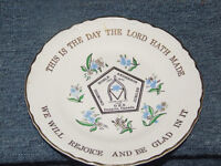1975 collector's plate, Noble Anderson Diamond Jubilee, Ontario