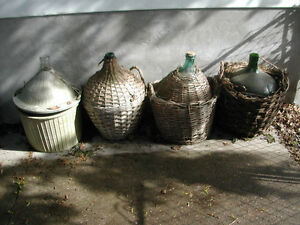 Wine Making Bottles / Jugs