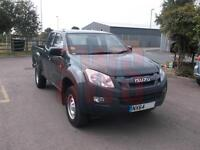 2014 Isuzu D-Max 2.5TD 4x4 Extended Cab DAMAGED REPAIRABLE SALVAGE