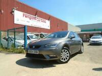 SEAT Leon 1.6 TDI CR SE (Tech Pack) (s/s) 5dr FDSH SATNAV MULTIMEDIA 109K