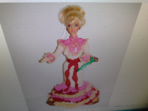 Handmade collectable barbie dolls about 100 available