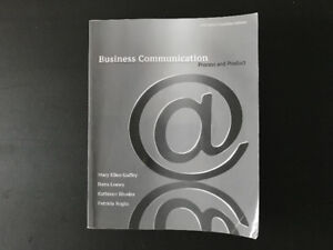Business Communication Process and Product Fifth Canadian Editio