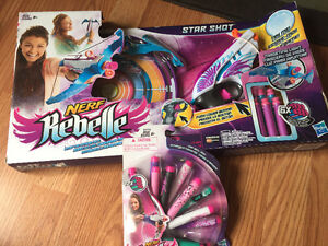 Girls Nerf Rebelle Star Shot