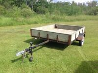 Utility trailer great for a quad