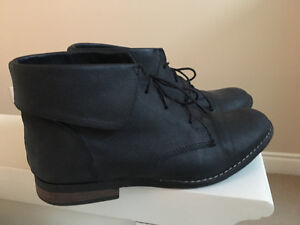 Steve Madden leather ankle boots, size 7.5
