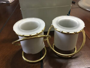 Brand New Unused Party Lite Linked Candle Holders in Box