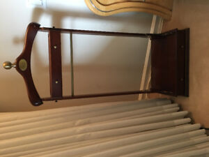 Mahogany Coat & Jacket Stand