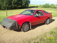 DODGE DAYTONA RARE RUNS GREAT $1950 TRADE FOR SLED SNOWMOBILE ?