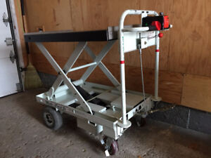 Electric cart (lifting table)