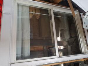 Vinyl Window With Shutters