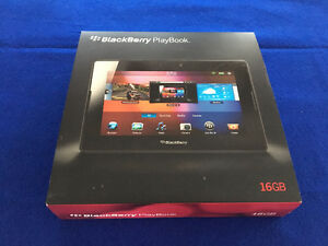 16GB Blackberry Playbook w/ Bluetooth Case
