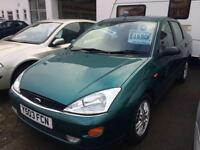 2001 FORD FOCUS 1.6 Ghia Auto From GBP850+Retail package.