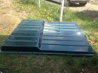 Fibre glass truck bed cover
