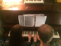 Trumpet or Piano Lessons - For Fun!