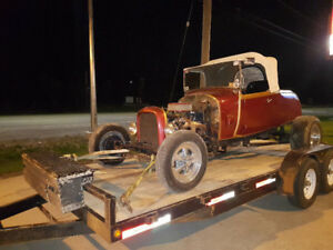 Flat bed car hauling - specializing in Classic Cars