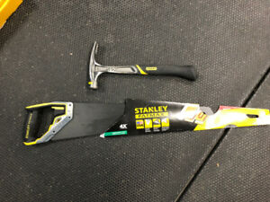 Stanley FatMax Hammer and HandSaw