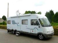 Hymer B694 A class 4 berth rear lounge motorhome for sale Ref 15189