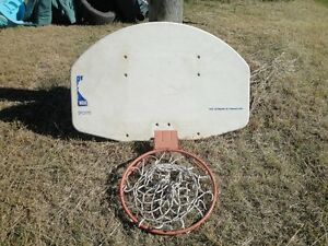 HUFFY Basketball Backboard and Hoop