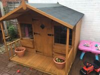 Wendy house mint cond 6x6foot