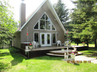 Water Front Year Round Cabin on west side TurtleLake-Parkland
