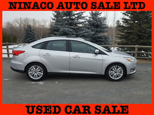 2015 Ford Focus TITANIUM  Top of The Line! ONLY 3.500km