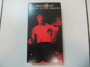 Classic BruceLee Return Of TheDragon  VHS Stereo N0. 6123 C1999