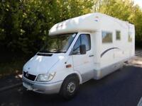 CI Cipro 55 2005 4 Berth Rear Fixed Bed Motorhome For Sale