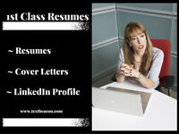 Resumes, Cover Letters and LinkedIn Profile: Written by experts