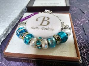 Bella Perlina Bracelet and Charms (Pandora Knock-off)