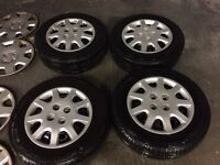 4x100 WHEELS AND TYRES CIVIC POLO