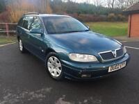 Vauxhall/Opel Omega 2.2i 16v ( lth ) auto 2002MY CDX / LEATHER HEATED SEATS