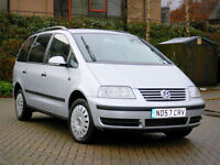 2007 57 VW SHARAN 1.9TDI PD ( 115P ) 7 SEATS+FULL SERVICE HISTORY