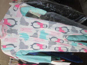 12 mth nwt carters sleepers 2 PACK x3