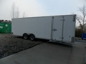 Contractor's Delight – 24' Cargo Trailer – Shop on Wheels