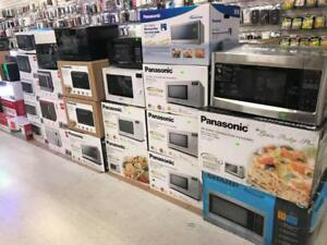 MICROWAVE OVENS PANASONIC, RCA, SHARP, FRIGDAIRE STARTING FROM $44.99-$199.99